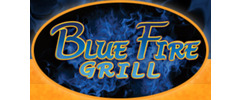 Blue Fire Grill Logo