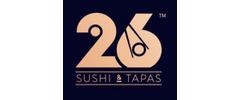 26 Sushi & Tapas Logo
