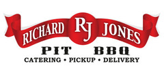 Richard Jones Pit BBQ Catering Logo