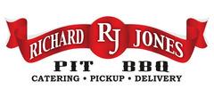 Richard Jones Pit BBQ Catering Logo