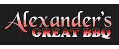 Alexander's Great BBQ Logo