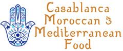 Casablanca Moroccan and Mediterranean Food Logo