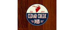 Cedar Creek Pub Logo