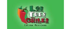 Los Tres Chiles Logo