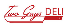 Two Guys Deli Logo