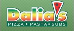 Dalia's Pizza Logo