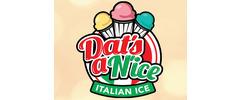 Dat's a N'ice Italian Ice Logo