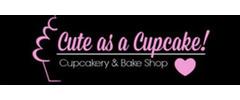 Cute As A Cupcake! Cupcakery & Bake Shop Logo