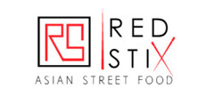Red Stix Street Food Logo