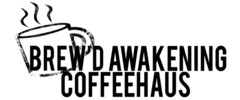 Brew'd Awakening Coffeehaus Logo