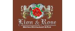 The Lion & Rose British Restaurant & Pub logo