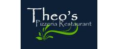 Theo's Pizzeria Logo