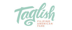 Taglish Filipino American Fare Logo