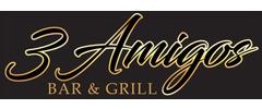 3 Amigos Bar & Grill Logo