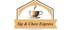 Sip & Chew Express Logo