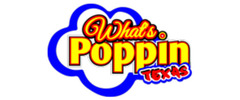 What's Poppin' Texas Logo