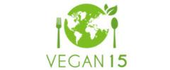 Vegan 15 Logo