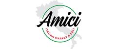 Amici Italian Market and Deli Logo