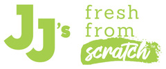 "JJ's ""Fresh from Scratch"" Logo"