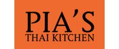 Pia's Thai Kitchen Logo