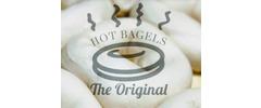 The Original Hot Bagels Logo