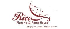 Rico's Pizzaria & Pasta House Logo