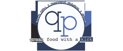 qp greek food with a kick Logo