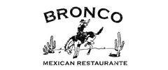 Bronco Mexican Restaurant Logo