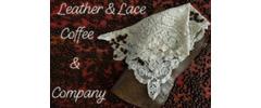 Leather & Lace Coffee & Company Logo