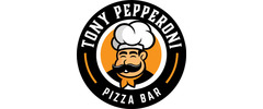 Tony Pepperoni Pizza Bar Logo