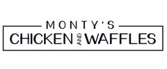 Monty's Chicken & Waffles logo