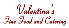 Valentina's Fine Food and Catering Logo