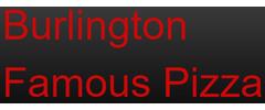 Burlington Famous Pizza Logo
