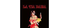 La Tía Paisa Taco Shop Logo