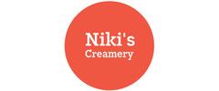 Niki's Creamery Logo