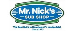 Mr Nick's Sub Shop Logo