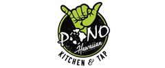 Pono Hawaiian Kitchen and Tap logo