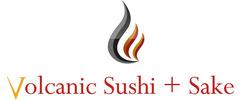 Volcanic Sushi + Sake logo