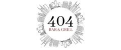 Bar & Grill 404 Logo