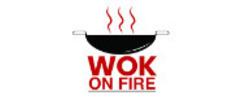 Wok on Fire Logo