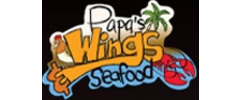 Papa's Wings and Seafood Logo