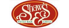 Shaw's Patio Bar & Grill Logo