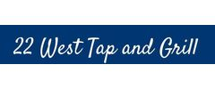 22 West Tap & Grill Logo