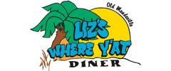 Liz's Where Y'At Diner Logo