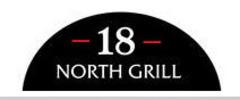 18 North Grill Logo