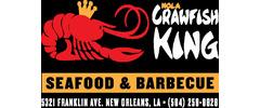 NOLA Crawfish King Seafood & BBQ Logo