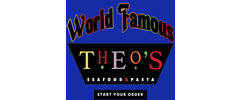 World Famous Theo's Seafood Logo