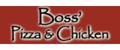 Boss' Pizza and Chicken Logo
