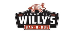 Armadillo Willy's BBQ Logo