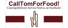 CallTOMForFood! Logo